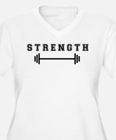 Strength Plus Size T-Shirt