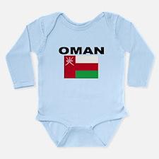 Oman Flag Body Suit