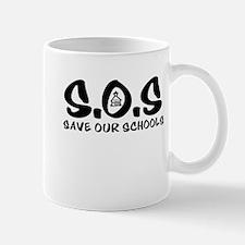 Cute Save our schools Mug