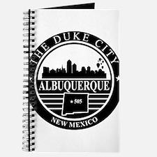 Albuquerque logo black and white Journal