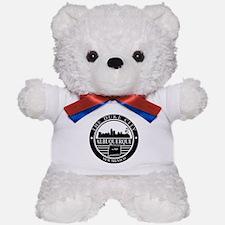 Albuquerque logo black and white Teddy Bear