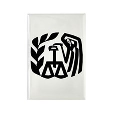 IRS Grim Reaper Rectangle Magnet