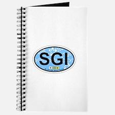 St George Island - Oval Design. Journal