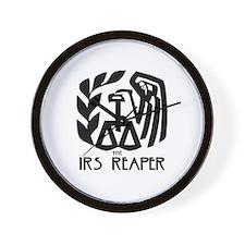 IRS Reaper Wall Clock