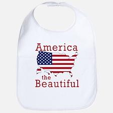 AMERICA the BEAUTIFUL Bib