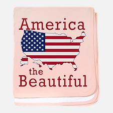 AMERICA the BEAUTIFUL baby blanket