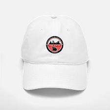 Atlanta logo black and red Baseball Baseball Baseball Cap