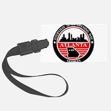 Atlanta logo black and red Luggage Tag