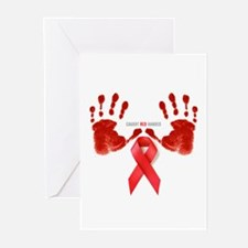Aids T-Shirts World AIDS Day Greeting Cards (Packa