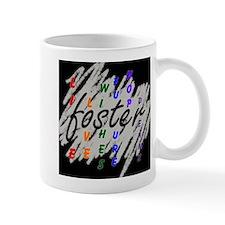 foster... black/silver Small Mugs