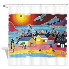 Dwelling Places Shower Curtain