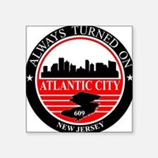 Atlantic City logo black and red Sticker