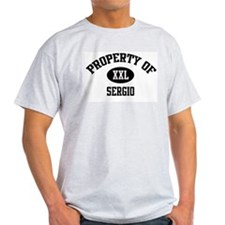 Property of Sergio Ash Grey T-Shirt