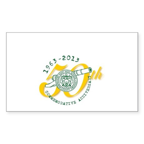 FHHS 50th Reunion Sticker