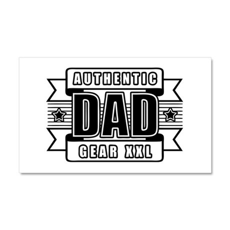 Fathers Day Day XXL Car Magnet 20 x 12