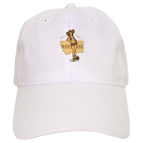 Vintage Montana Pinup Cap