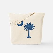 Vintage South Carolina Flag Tote Bag