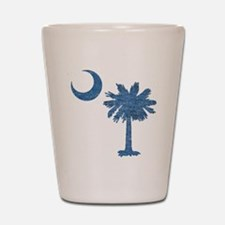 Vintage South Carolina Flag Shot Glass