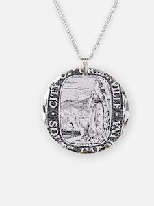 Faded Greenville South Carolina Necklace
