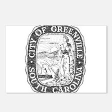 Faded Greenville South Carolina Postcards (Package