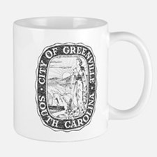 Faded Greenville South Carolina Mug