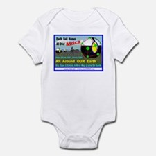 Earth Ball Homes 4 Africa And... Infant Bodysuit