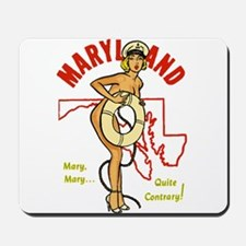 Vintage Maryland Pinup Mousepad