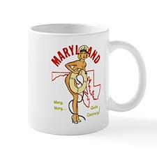 Vintage Maryland Pinup Mug