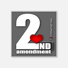 2nd Love Sticker