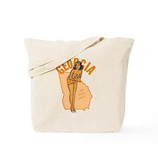 Vintage Georgia Pinup Tote Bag