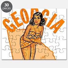 Vintage Georgia Pinup Puzzle