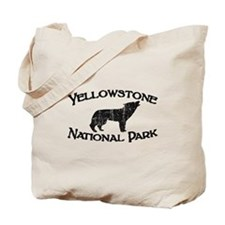 Yellowstone Wolf Tote Bag