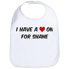 Heart on for Shane Bib