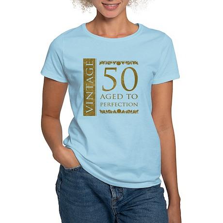 Fancy Vintage 50th Birthday Women's Light T-Shirt