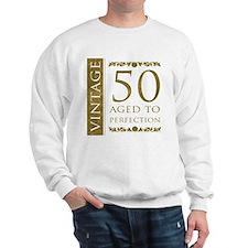 Fancy Vintage 50th Birthday Sweatshirt