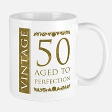 Fancy Vintage 50th Birthday Mug