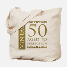 Fancy Vintage 50th Birthday Tote Bag