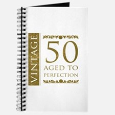 Fancy Vintage 50th Birthday Journal
