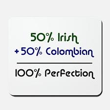Irish and Colombian Mousepad