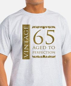 Fancy Vintage 65th Birthday T-Shirt
