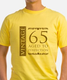 Fancy Vintage 65th Birthday T
