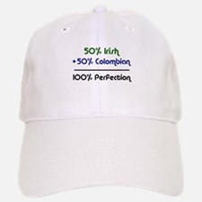 Irish and Colombian Baseball Baseball Cap