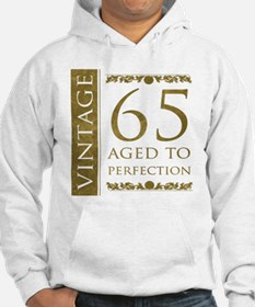 Fancy Vintage 65th Birthday Hoodie
