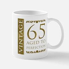 Fancy Vintage 65th Birthday Mug
