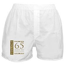 Fancy Vintage 65th Birthday Boxer Shorts
