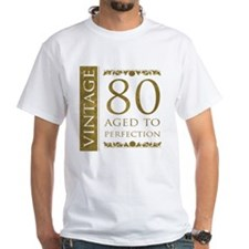 Fancy Vintage 80th Birthday Shirt