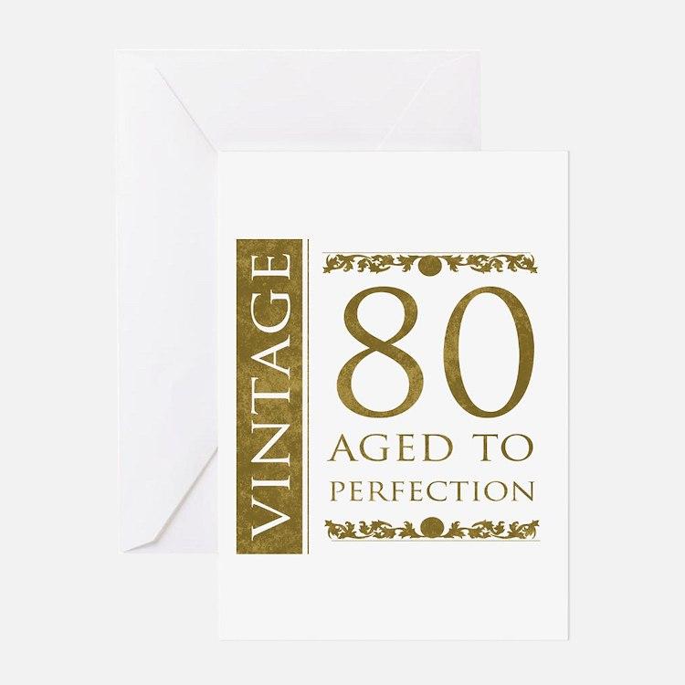 80Th Birthday Men 80th Birthday Men Greeting Cards – 80th Birthday Cards for Men