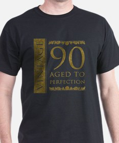 Fancy Vintage 90th Birthday T-Shirt