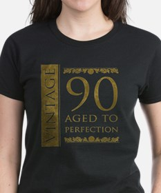 Fancy Vintage 90th Birthday Tee