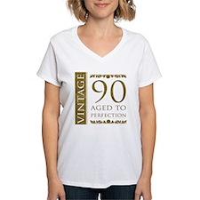 Fancy Vintage 90th Birthday Shirt